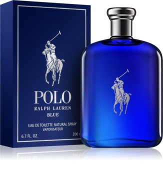 Ralph Lauren Polo Blue eau de toilette para hombre 200 ml d3be3dbb895