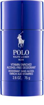 Ralph Lauren Polo Blue dédorant stick pour homme 75 g