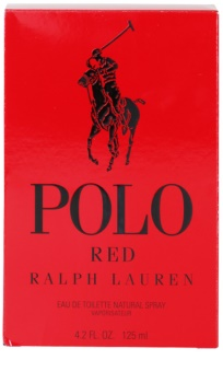 Ralph Lauren Polo Red toaletní voda pro muže 125 ml