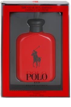 Ralph Lauren Polo Red The Gear Box Edition Eau de Toilette für Herren 125 ml