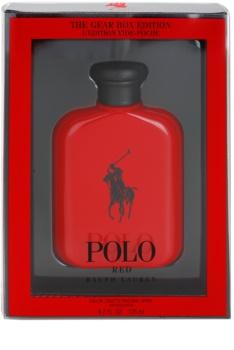 Ralph Lauren Polo Red The Gear Box Edition toaletní voda pro muže 125 ml