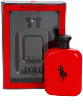 Ralph Lauren Polo Red The Gear Box Edition eau de toilette pour homme 125 ml