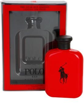 Ralph Lauren Polo Red The Gear Box Edition eau de toilette pour homme 125 ml