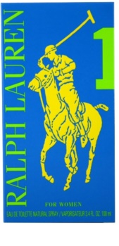Ralph Lauren The Big Pony Woman 1 Blue Eau de Toilette für Damen 100 ml