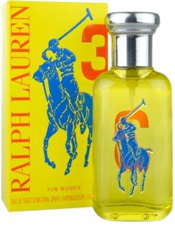 Ralph Lauren The Big Pony 3 Yellow eau de toilette nőknek 50 ml