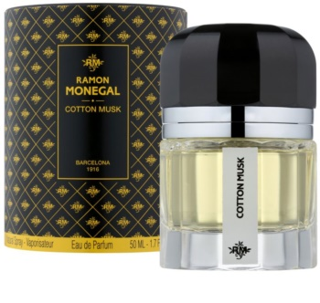 Ramon Monegal Cotton Musk Eau de Parfum für Damen 50 ml