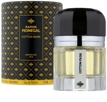 Ramon Monegal Cotton Musk eau de parfum pentru femei 50 ml