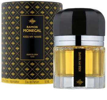 Ramon Monegal Kiss My Name Parfumovaná voda unisex 50 ml