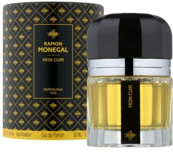Ramon Monegal Mon Cuir eau de parfum mixte 50 ml