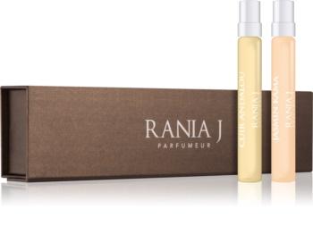 Rania J. Travel Collection Gift Set VІІ Jasmin Kamá, Cuir Andalou
