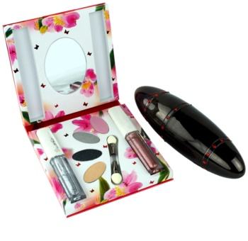 Rasasi Daala Al Banat Amani parfémovaná voda pro ženy 50 ml + oční stíny + tekuté oční linky + lesk na rty