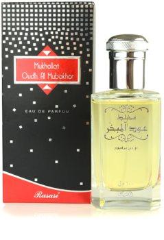 Rasasi Mukhallat Oudh Al Mubakhar Eau de Parfum unisex 100 ml