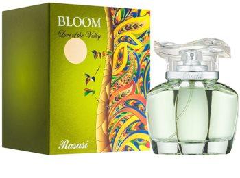 Rasasi Bloom Love of the Valley Eau de Parfum para mulheres 85 ml