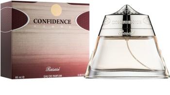 Rasasi Confidence Homme Eau de Parfum para homens 85 ml