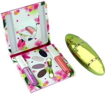 Rasasi Al Banat Bheja parfumska voda za ženske 50 ml + senčila za oči + tekoče črtalo za oči + sijaj za ustnice