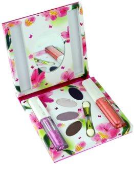 Rasasi Al Banat Bheja eau de parfum per donna 50 ml + ombretti + eyeliner liquidi + lucidalabbra