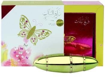Rasasi Al Banat Bheja woda perfumowana dla kobiet 50 ml + cienie do powiek + eyeliner + błyszczyk do ust