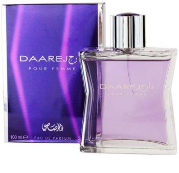 Rasasi Daarej for Woman eau de parfum per donna 100 ml
