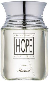Rasasi Hope for Men eau de toilette para homens 75 ml