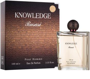 Rasasi Knowledge Parfumovaná voda pre mužov 100 ml