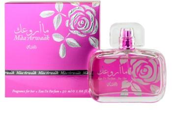 Rasasi Maa Arwaak for Her Eau de Parfum para mulheres 50 ml