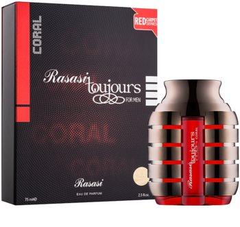 Rasasi Toujours Coral parfémovaná voda pro muže 75 ml