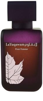 Rasasi La Yuqawam eau de parfum per donna 75 ml