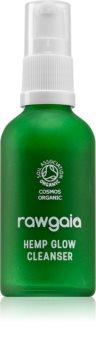 RawGaia Hemp Glow sanfte Reinigungsmilch für gemischte bis fettige Haut