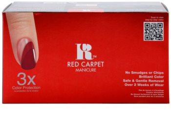 Red Carpet Gel Polish Starter Kit set cosmetice II.