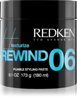 Redken Texturize Rewind 06 modellierende Stylingpaste  für das Haar