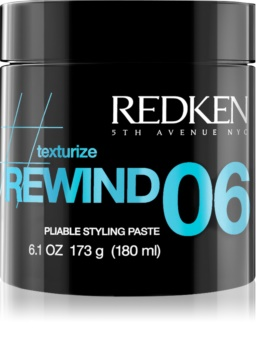 Redken Texturize Rewind 06 Styling Modelling Paste for Hair