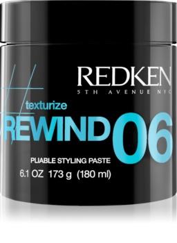 Redken Texturize Rewind 06 стайлінгова моделююча паста для волосся