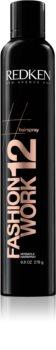 Redken Hairspray Fashion Work 12 spray do włosów farbowanych