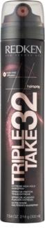 Redken Hairspray Triple Take 32 лак екстра сильної фіксації