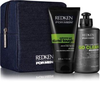 Redken For Men Go Clean kozmetika szett II. (száraz és normál hajra)