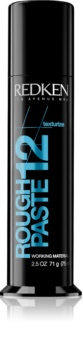 Redken Texturize Rough Paste 12 Styling Paste for All Hair Types
