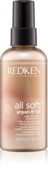 Redken All Soft olej pro suché a křehké vlasy