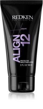 Redken Straight Lissage Align 12 baume lissant pour cheveux exposés à la chaleur