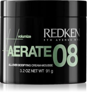 Redken Volumize Aerate 08 espuma em creme para styling para dar volume