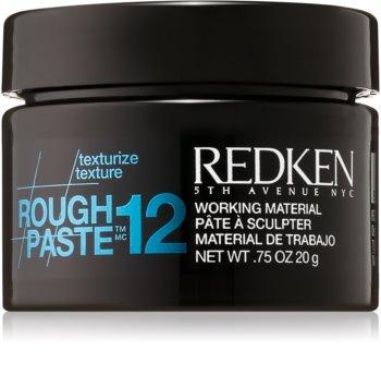 Redken Texturize Rough Paste 12 pasta matificante para fijación flexible