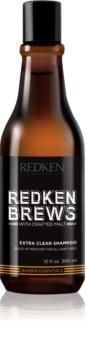 Redken Brews champô de limpeza profunda para todos os tipos de cabelos