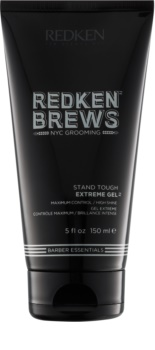 Redken Brews gel extra fuerte para cabello firme y brillante