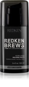 Redken Brews pasta modeladora para fixação natural