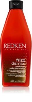 Redken Frizz Dismiss après-shampooing lissant pour cheveux indisciplinés et frisottis