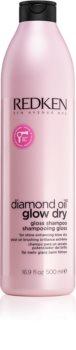 Redken Diamond Oil Glow Dry Gel Shampoo for Dull Hair