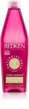Redken Nature+Science Color Extend Purifying Shampoo For Damaged And Colored Hair