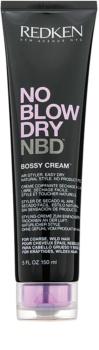 Redken No Blow Dry stylingový krém pro hrubé a nepoddajné vlasy s rychleschnoucím efektem