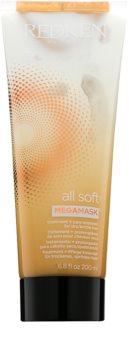 Redken All Soft máscara 2 em 1 para o cabelo seco e frágil