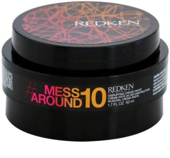 Redken Mess Around 10 kremowa pasta dający efekt potarganych włosów