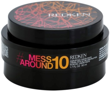 Redken Mess Around 10 pasta cremosa para aspeto despenteado